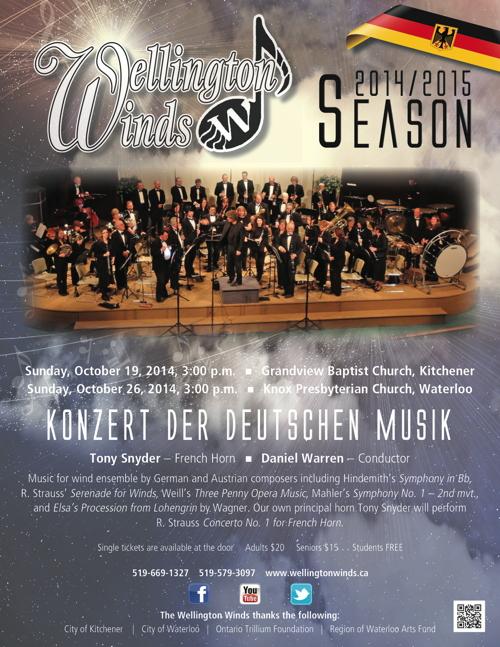 October Concert Poster