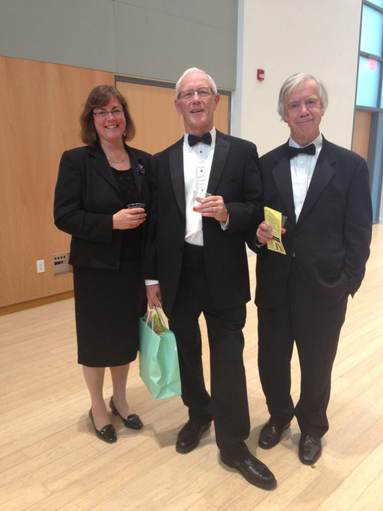 Cathy Baer, Dave Arthur, Michael Purves-Smith